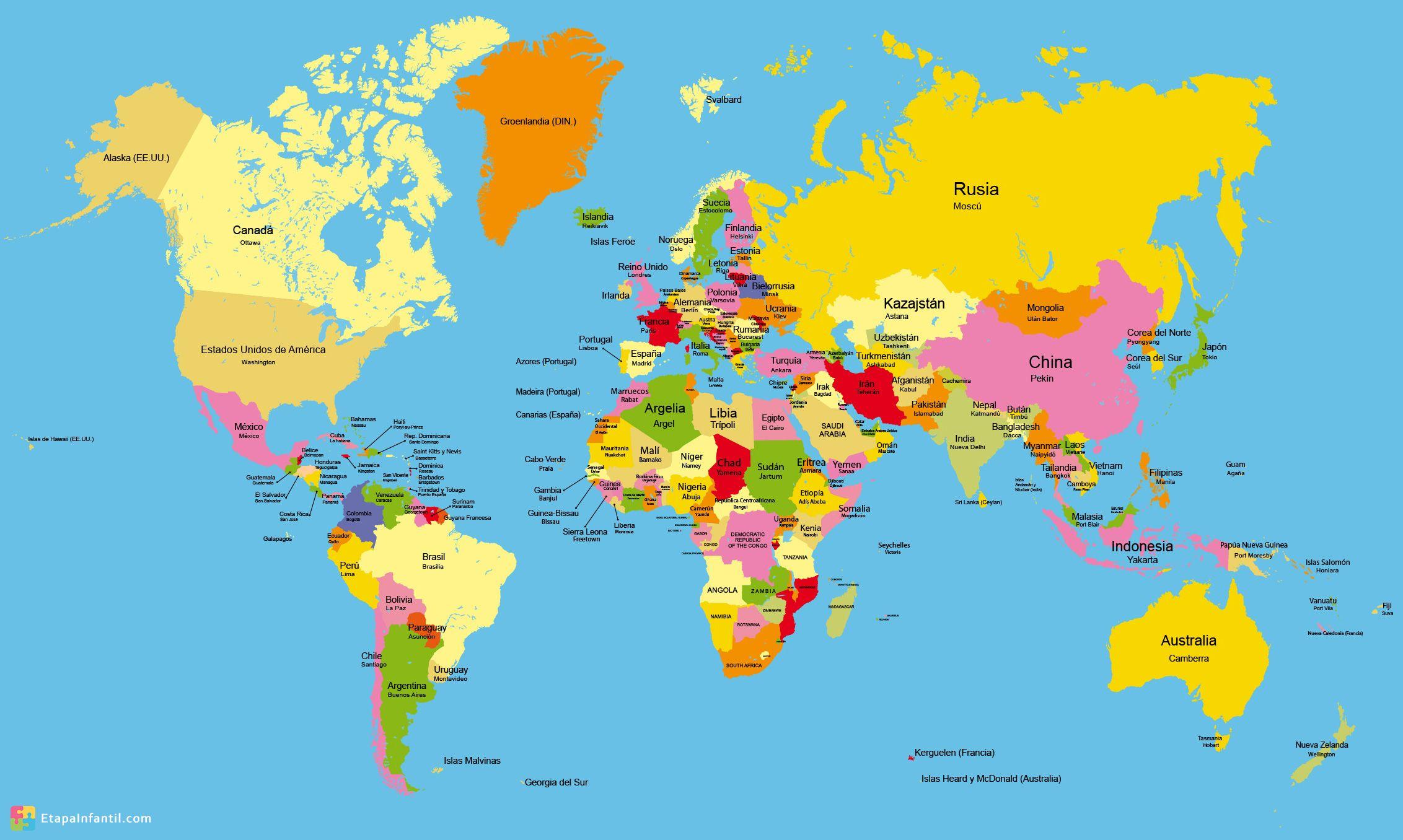 Mapa pequeña escala