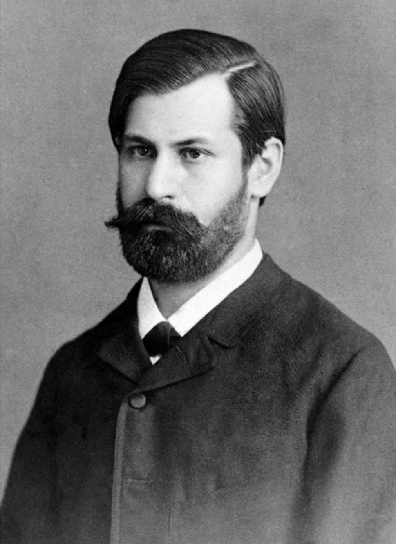 Sigmund Freud joven