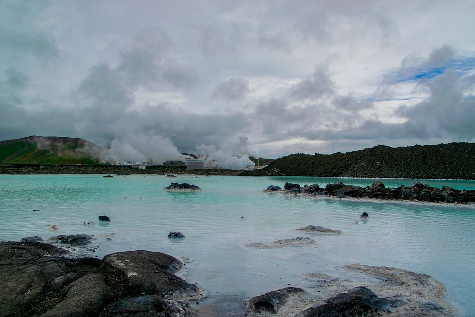 Lago Azul Islandia