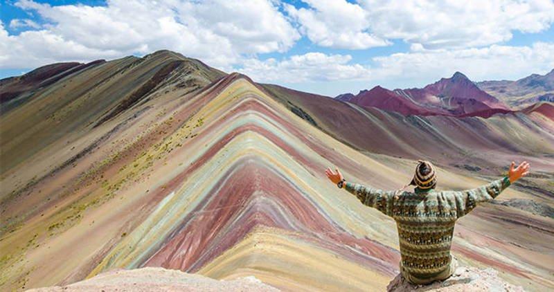 Arcoiris Montaña Peru