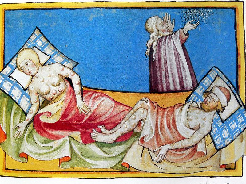Enfermedades en la Edad Media